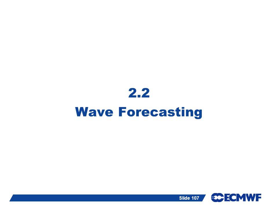 2.2 Wave Forecasting