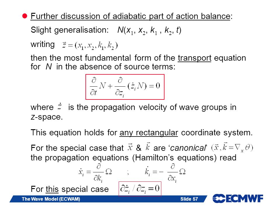 Further discussion of adiabatic part of action balance:
