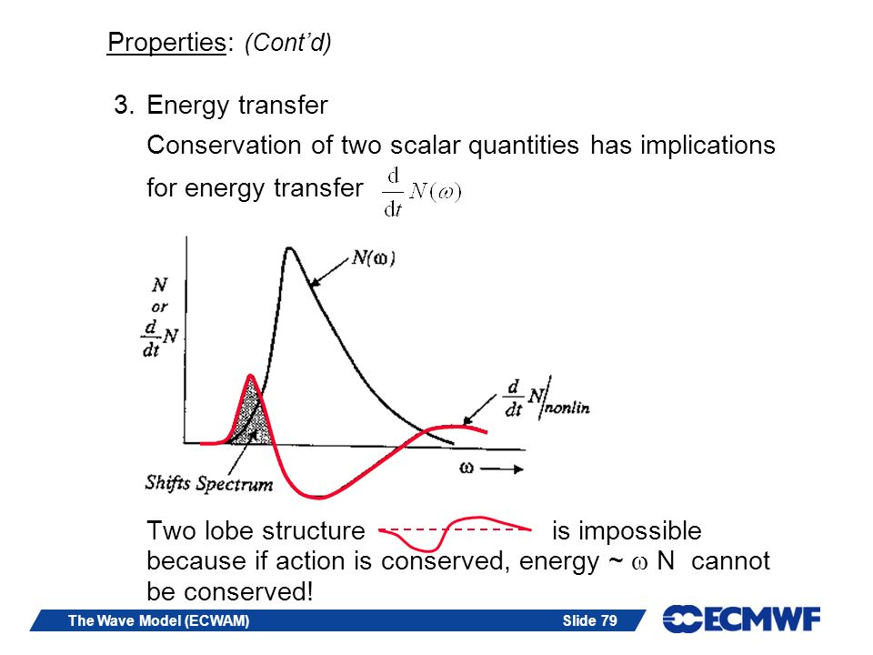 Properties: (Cont'd) Energy transfer