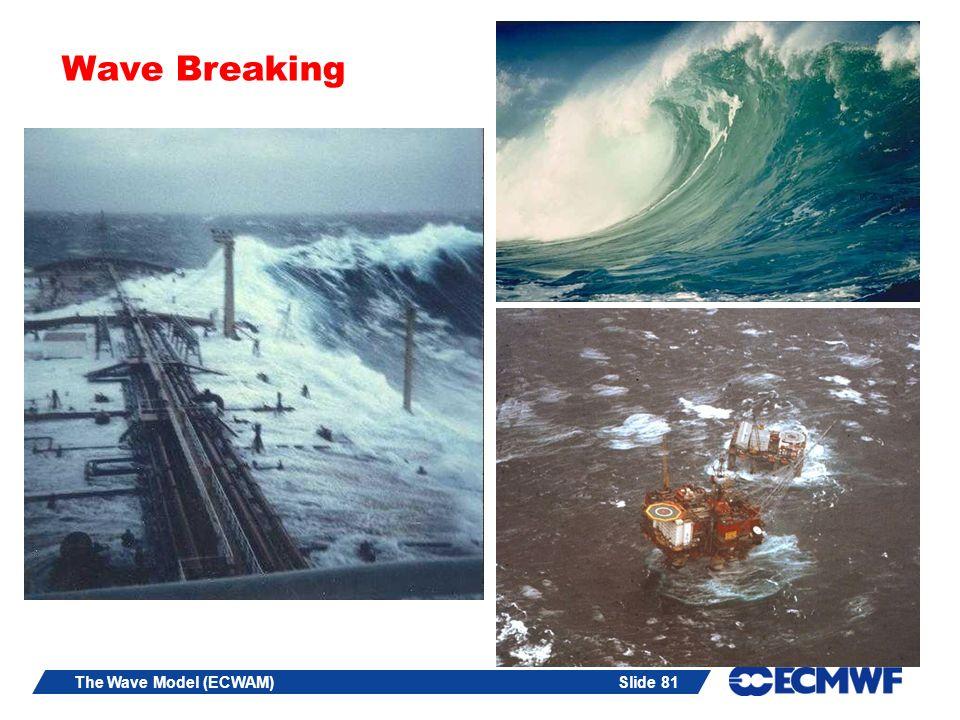 Wave Breaking The Wave Model (ECWAM)
