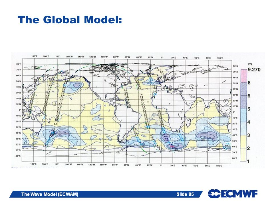 The Global Model: The Wave Model (ECWAM)