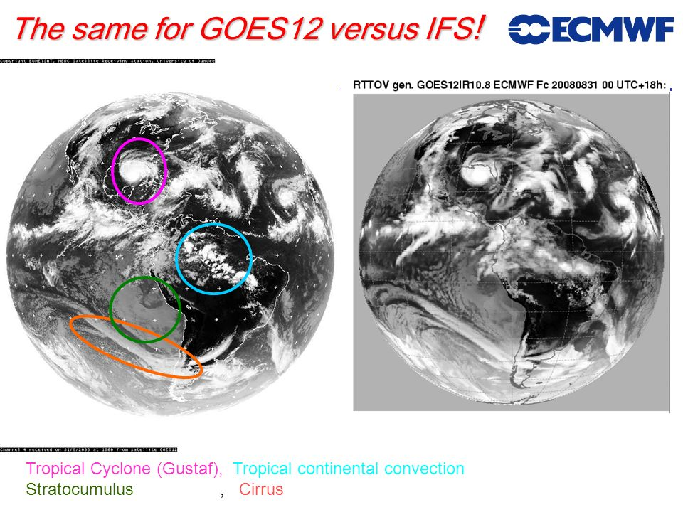 The same for GOES12 versus IFS!