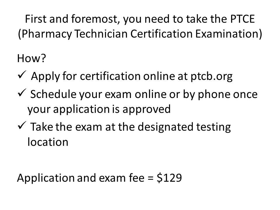 Free Professional Resume Pharmacy Technician Certification Online