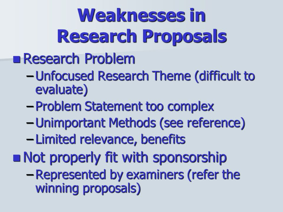 How To Write A Winning Research Proposal - Ppt Video Online Download