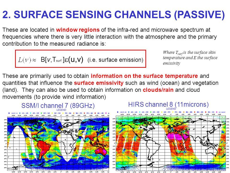 2. SURFACE SENSING CHANNELS (PASSIVE)