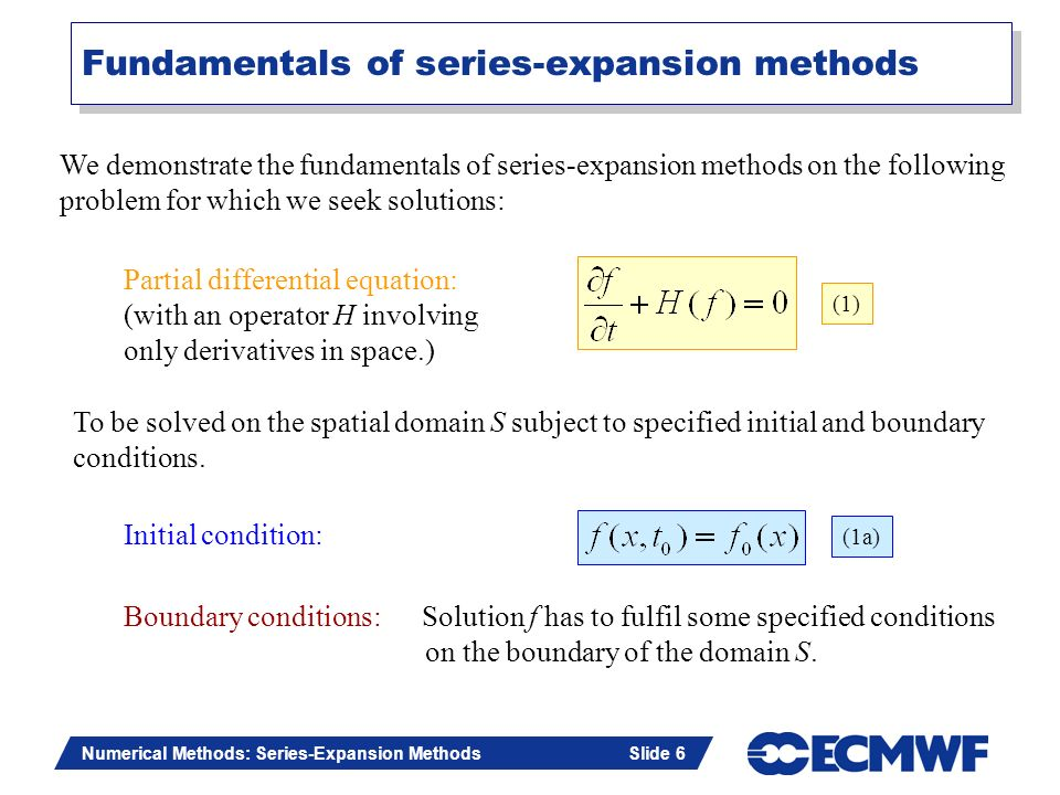 Fundamentals of series-expansion methods