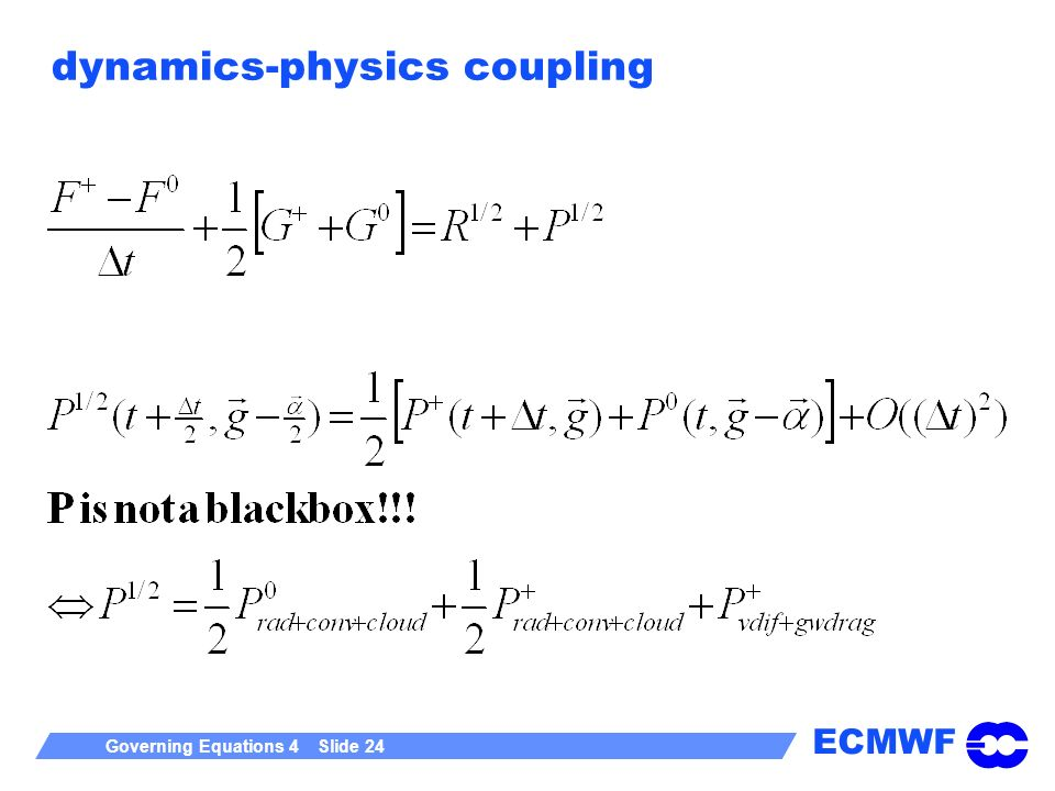 dynamics-physics coupling