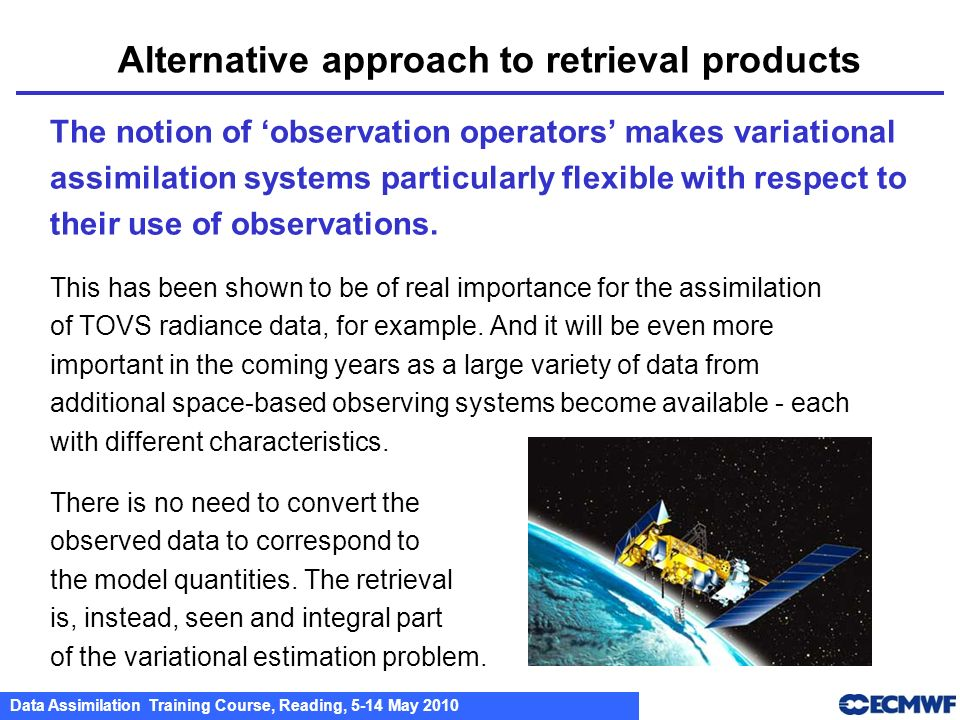 Alternative approach to retrieval products