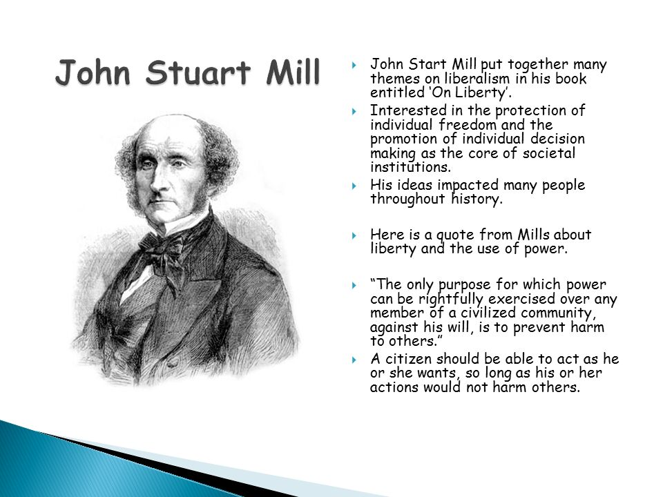 """volunteerism through the perspectives of john stuart mill Ever since its posthumous publication, john stuart mill's autobiography has elicited reactions of primarily disappointment and confusion thomas carlyle famously deemed the book the """"autobiography of a steam-engine"""" (quoted in levi 295) and readers since have generally agreed with his verdict."""