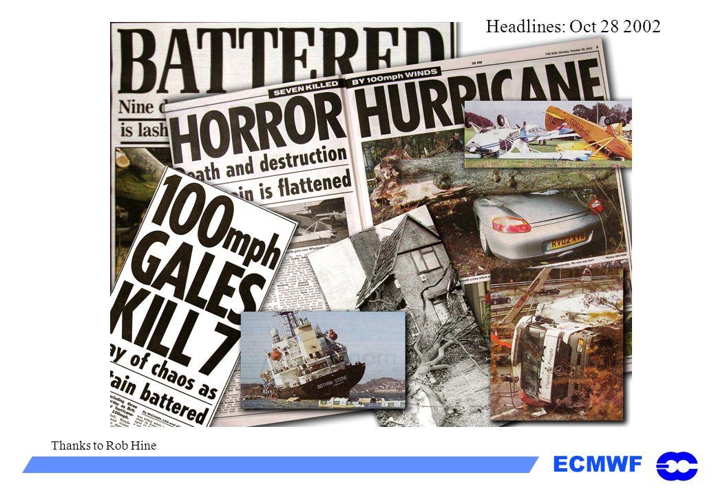 Headlines: Oct 28 2002 Thanks to Rob Hine