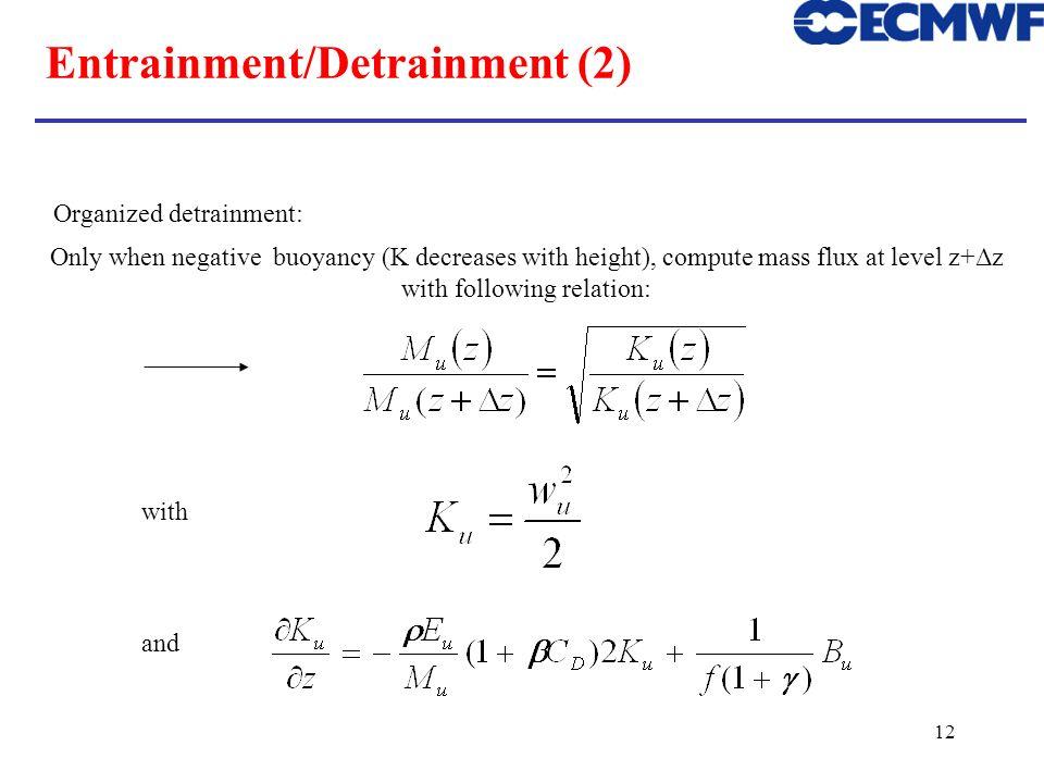 Entrainment/Detrainment (2)