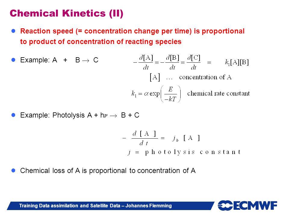 Chemical Kinetics (II)