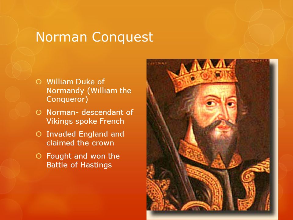 the consequences of the conquests of william i the conqueror The mongol invasion of china spanned six decades in the  especially those who worked catapults and gunpowder to assist them in other conquests  conqueror of.