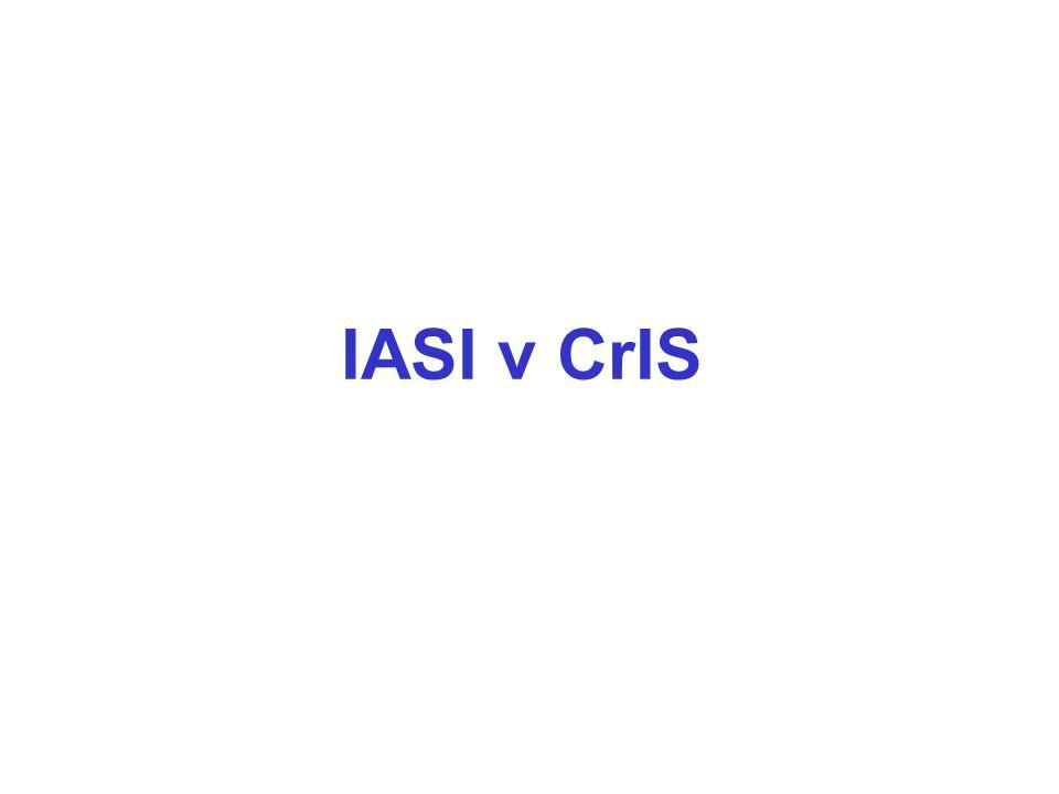 IASI v CrIS