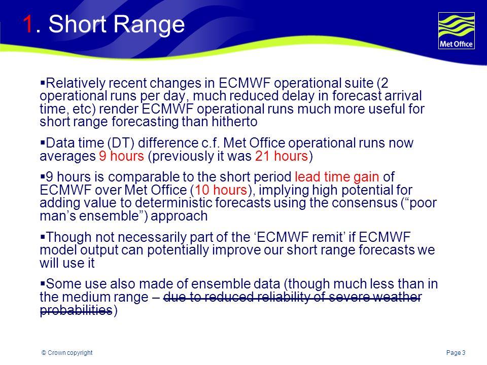 1. Short Range