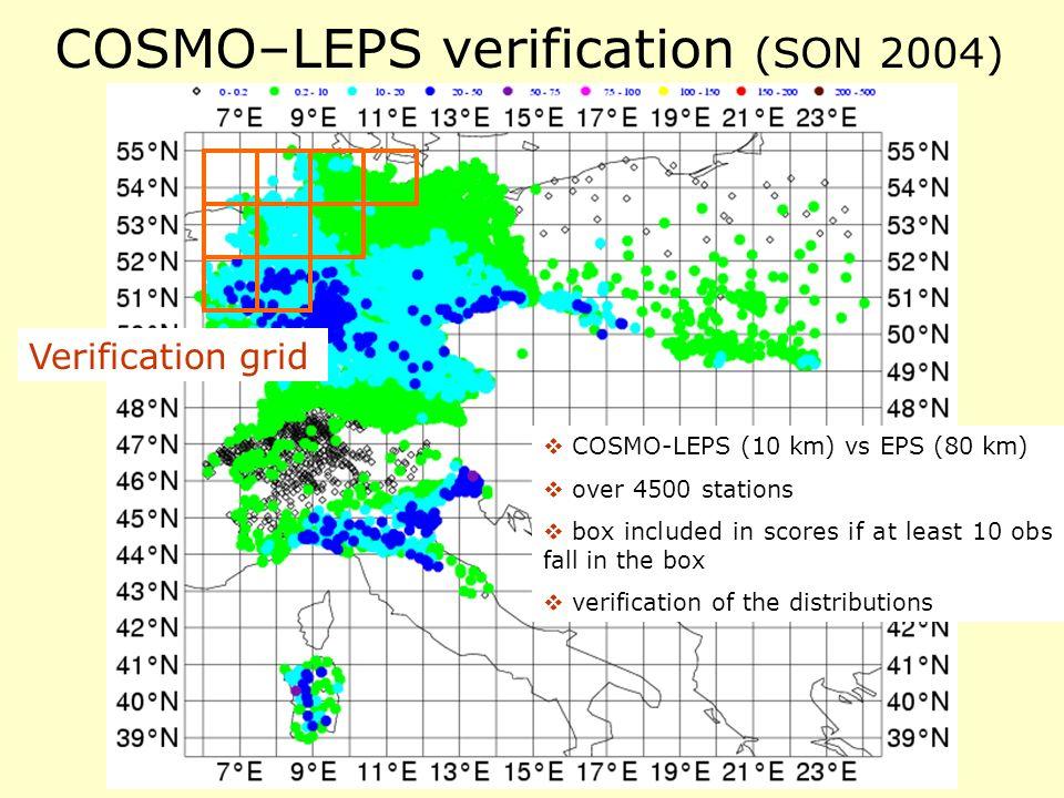COSMO–LEPS verification (SON 2004)