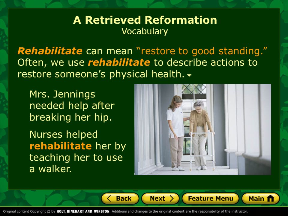 a retrieved reformation We present the short story a retrieved reformation, by o henry the story was originally adapted and recorded by the us department of state.