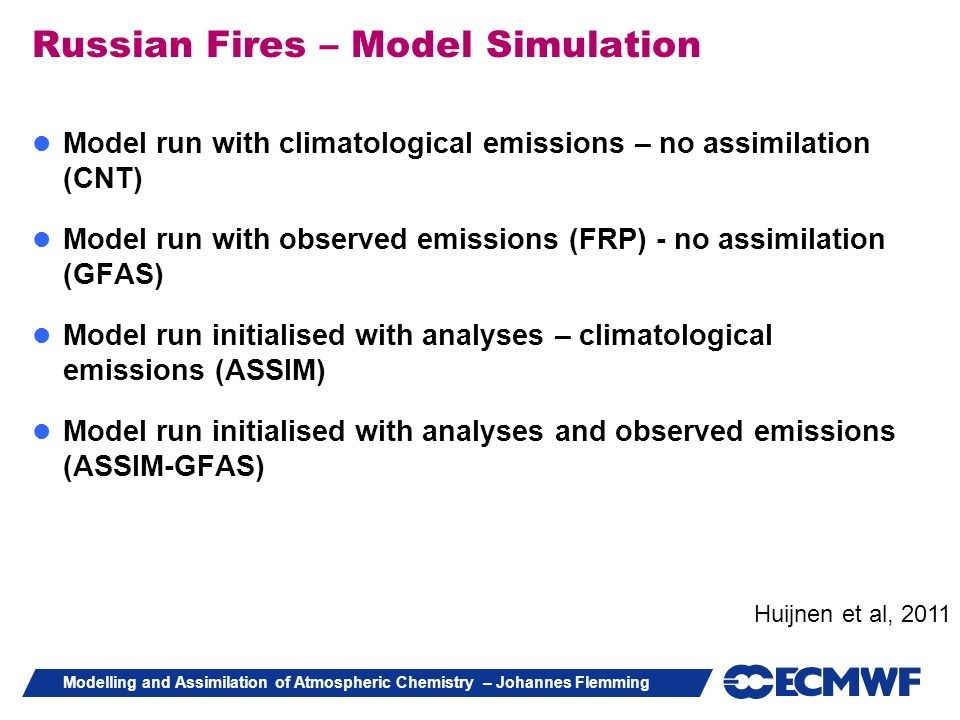 Russian Fires – Model Simulation