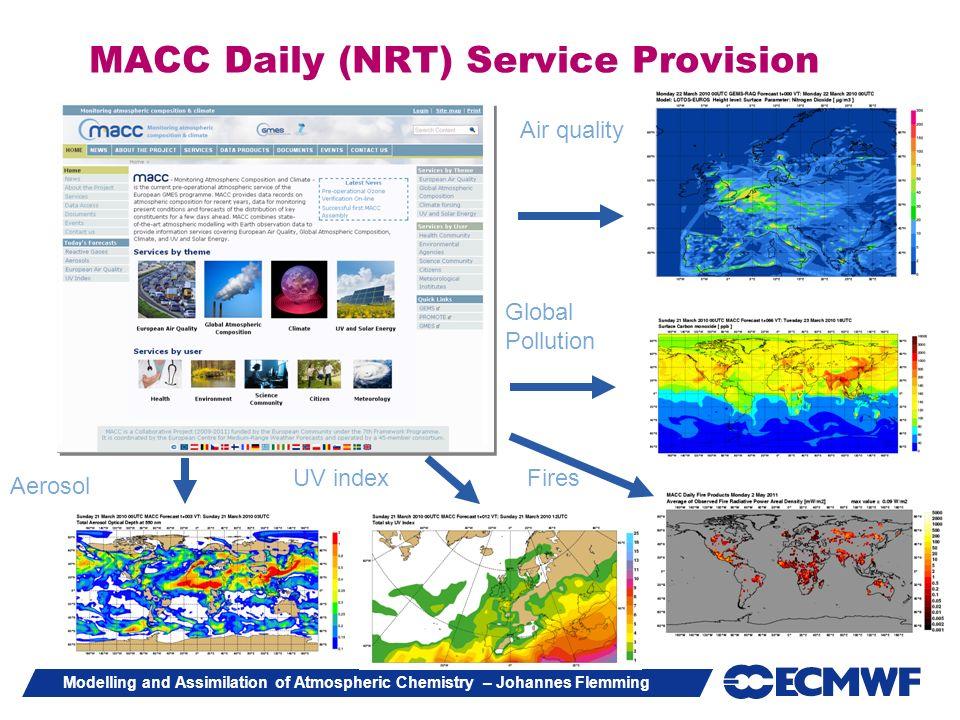 MACC Daily (NRT) Service Provision