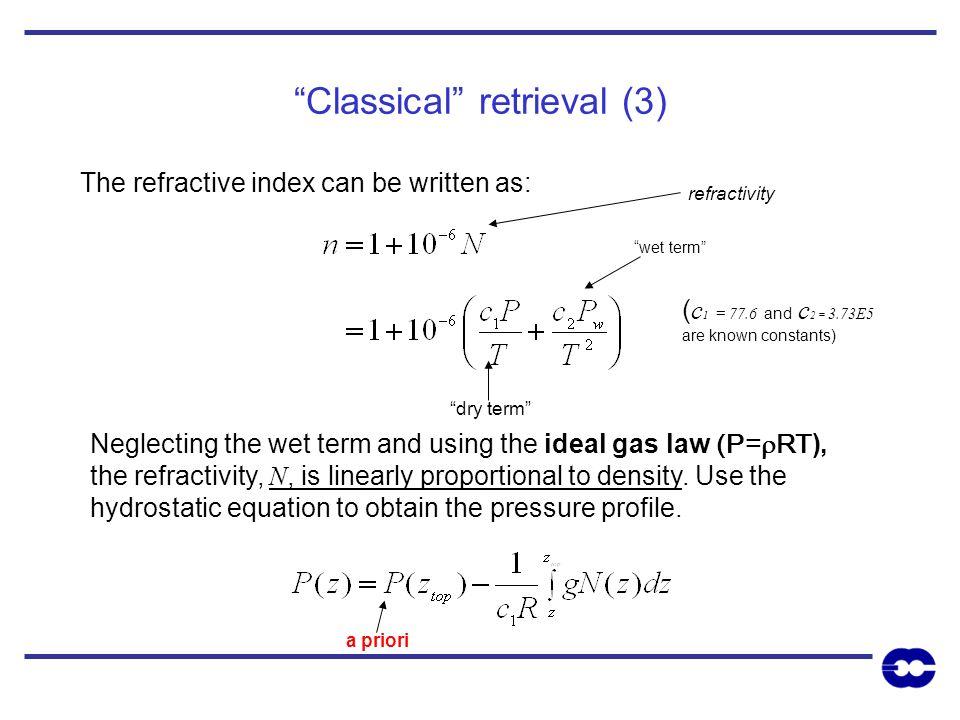 Classical retrieval (3)