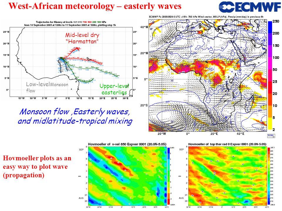 West-African meteorology – easterly waves