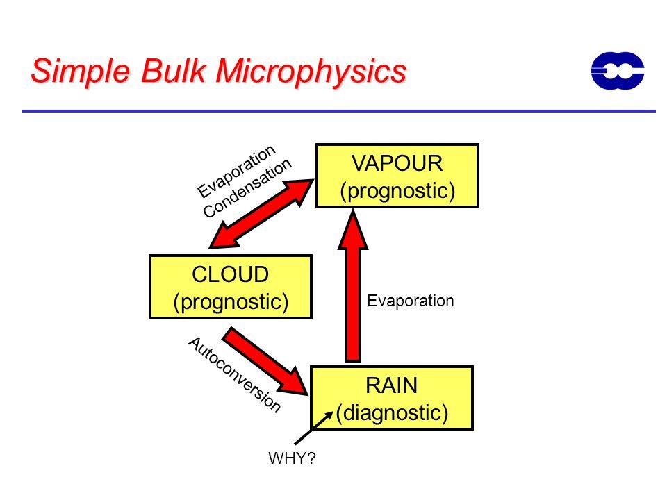Simple Bulk Microphysics