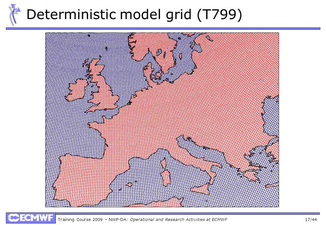 Deterministic model grid (T799)