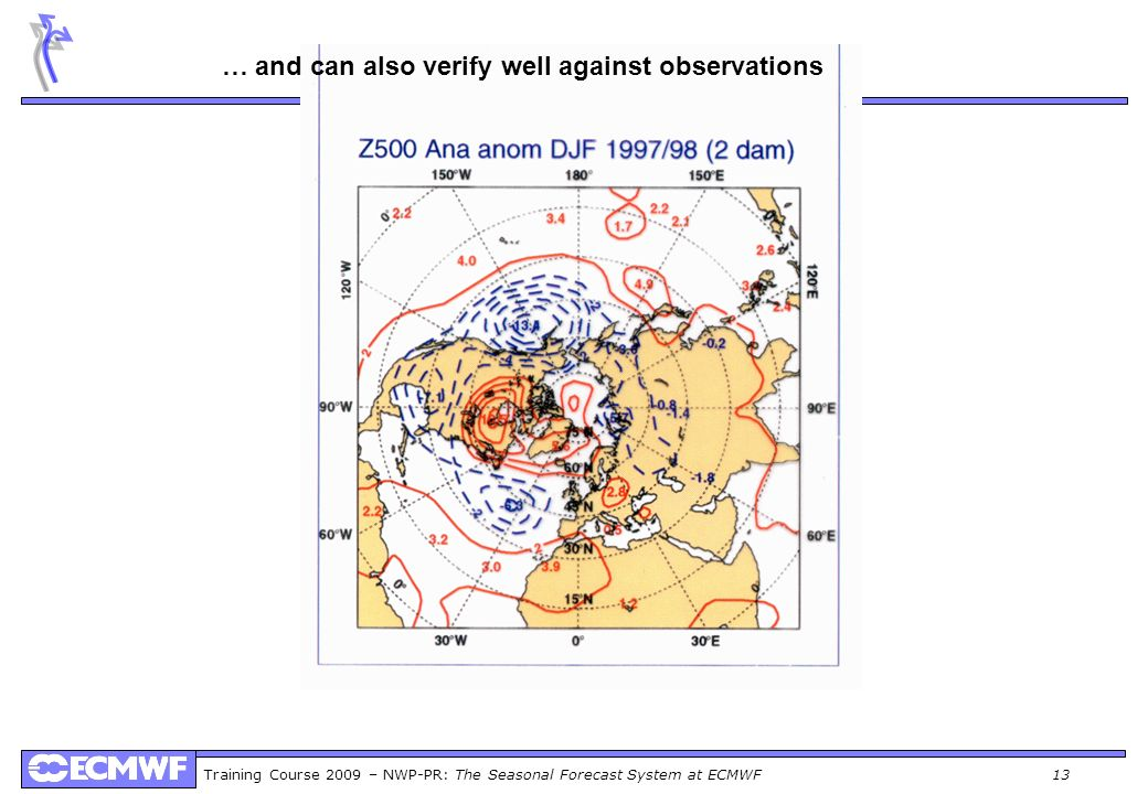 … and can also verify well against observations