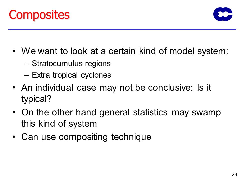 Composites We want to look at a certain kind of model system: