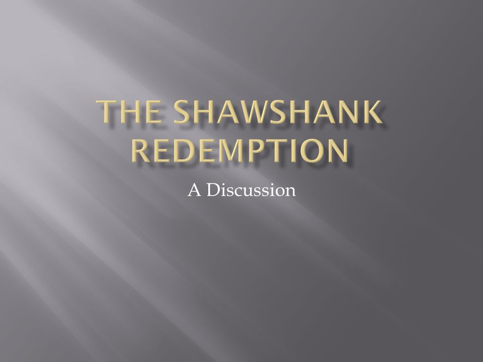 "whar does andy endure in the first few years at shawshank Whar does andy endure in the first few years at shawshank novel ""rita hayworth and the shawshank redemption"" tim robbins stars as andy dufresne, a successful young banker who is sentenced."