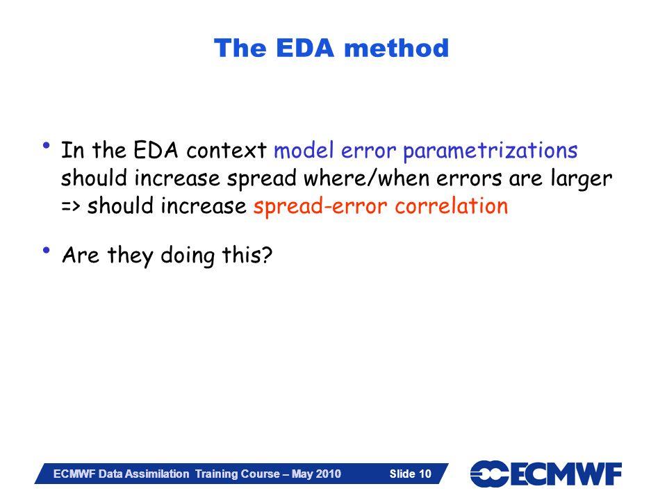 The EDA method