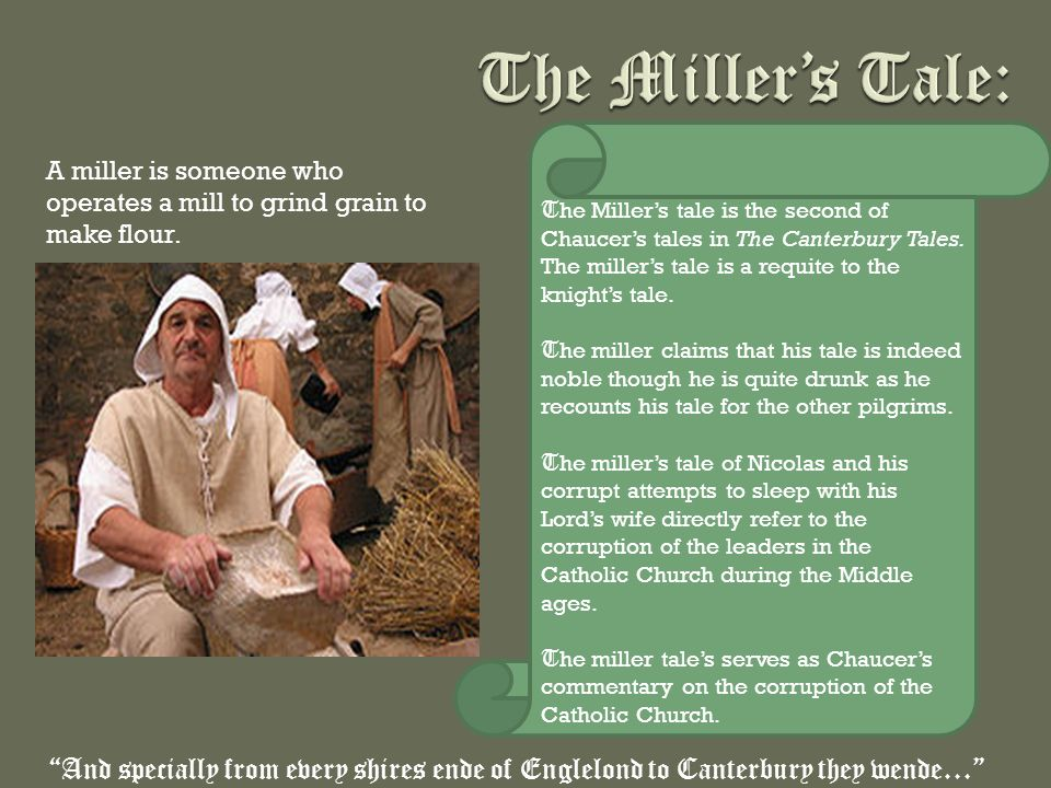 An analysis of chaucers view on the church as evident in the canterbury tales