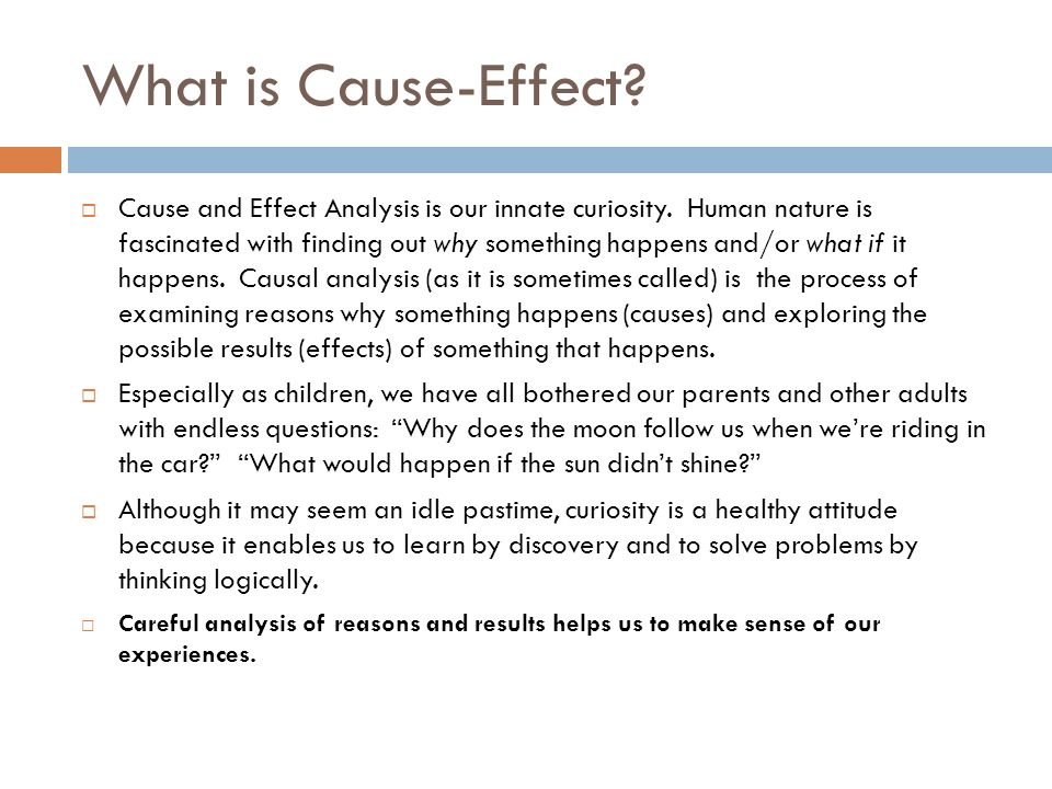 cause and effect of having a child What is cause and effect it's a very important part of plot and storytelling help your child understand cause and effect with this practice sheet.