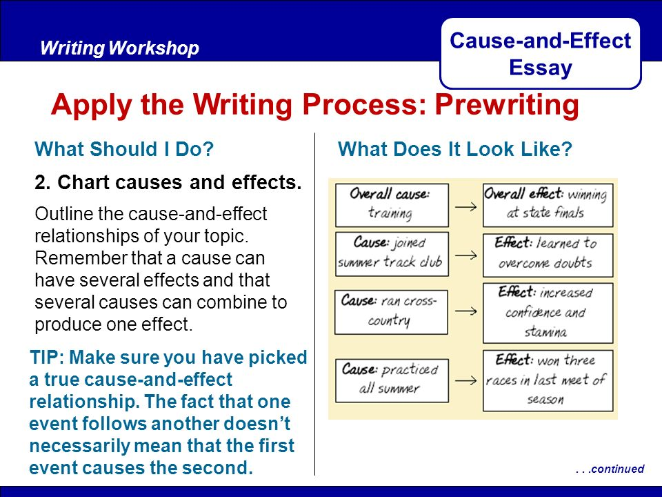 Cause-and-Effect Essay - ppt download
