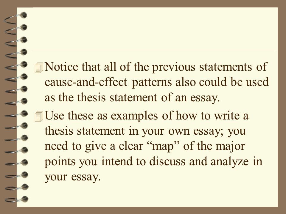 causal analysis essay examples Following given is an outstanding article that provides you with a list of suggestions on how to find a great sample of a causal analysis essay.