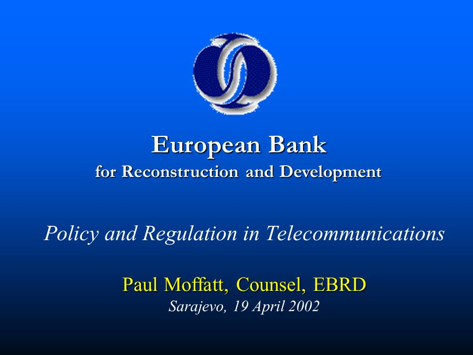 for Reconstruction and Development