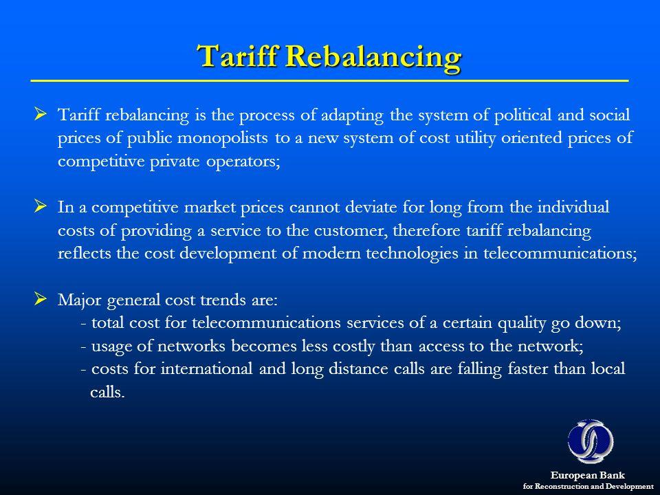 Tariff Rebalancing