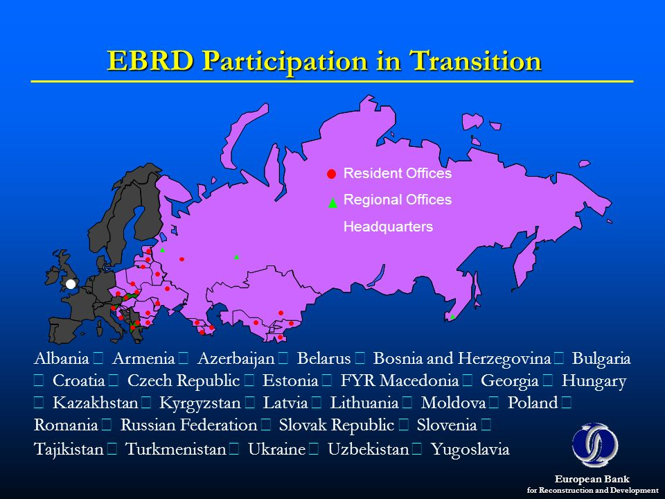 EBRD Participation in Transition