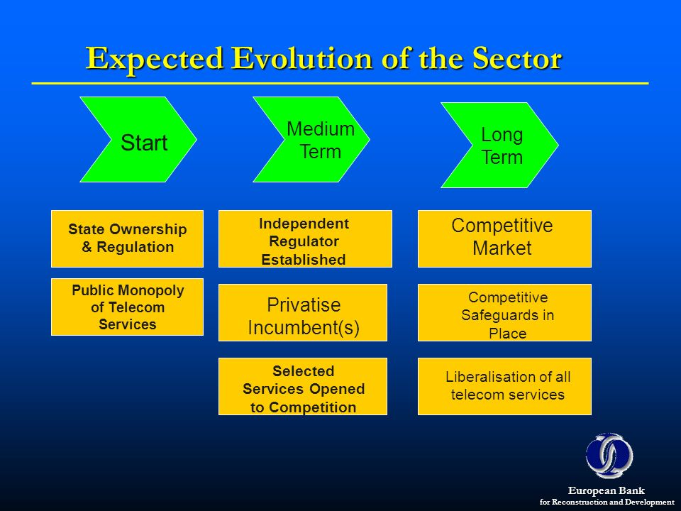 Expected Evolution of the Sector