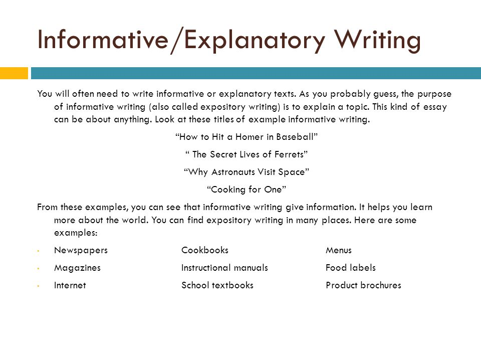 How to write a hook for an explanatory essay