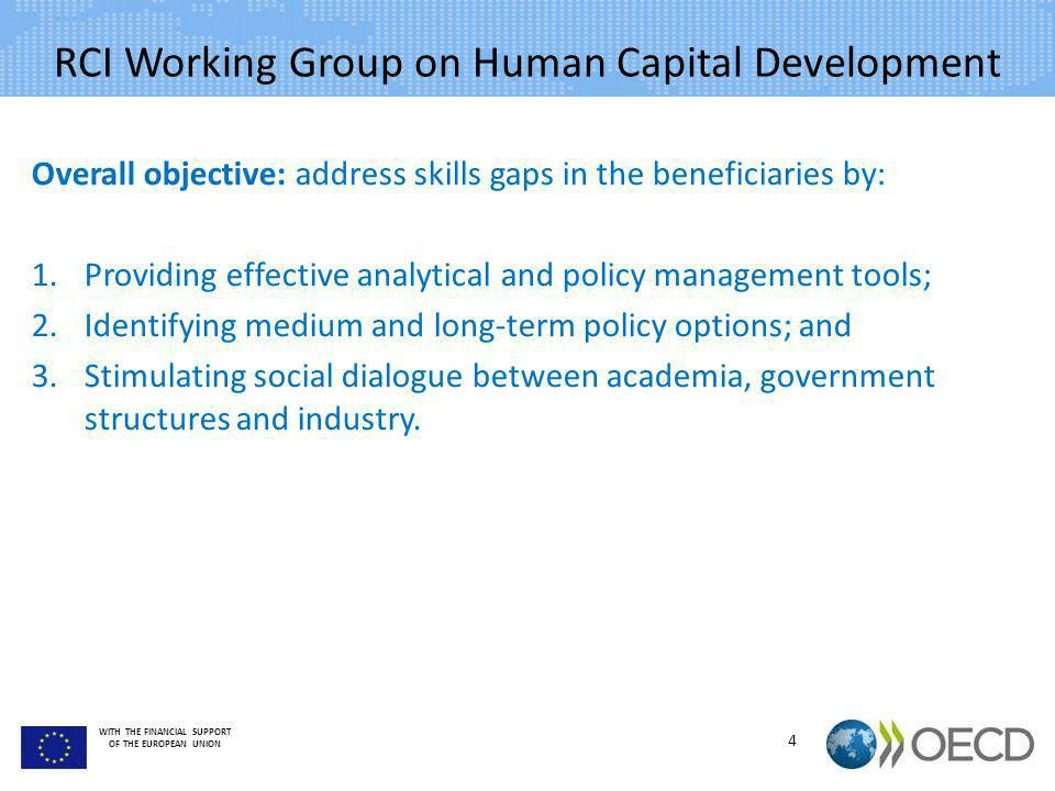 RCI Working Group on Human Capital Development