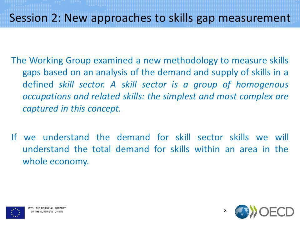 Session 2: New approaches to skills gap measurement