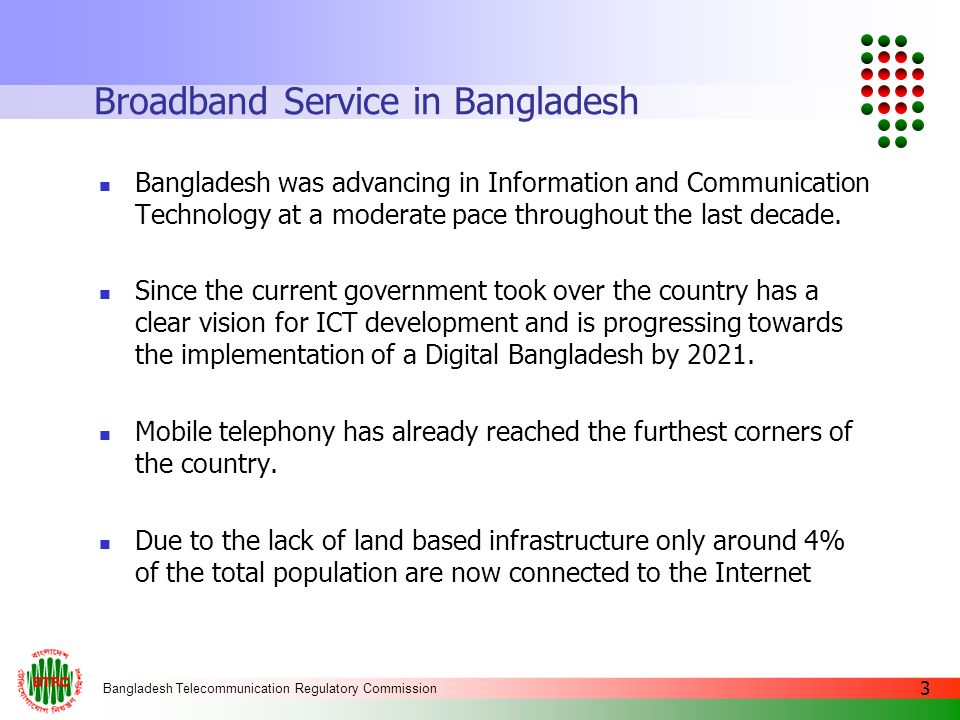Broadband Service in Bangladesh
