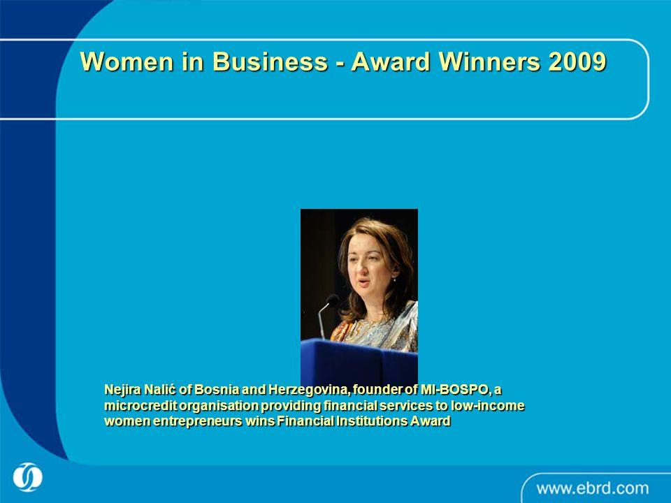 Women in Business - Award Winners 2009