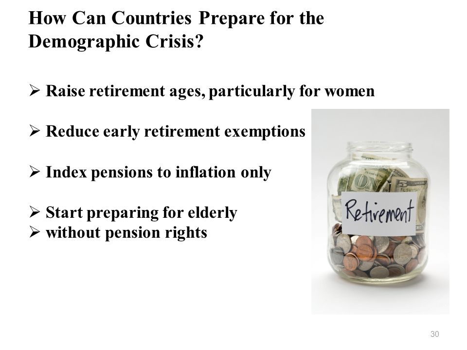 How Can Countries Prepare for the Demographic Crisis