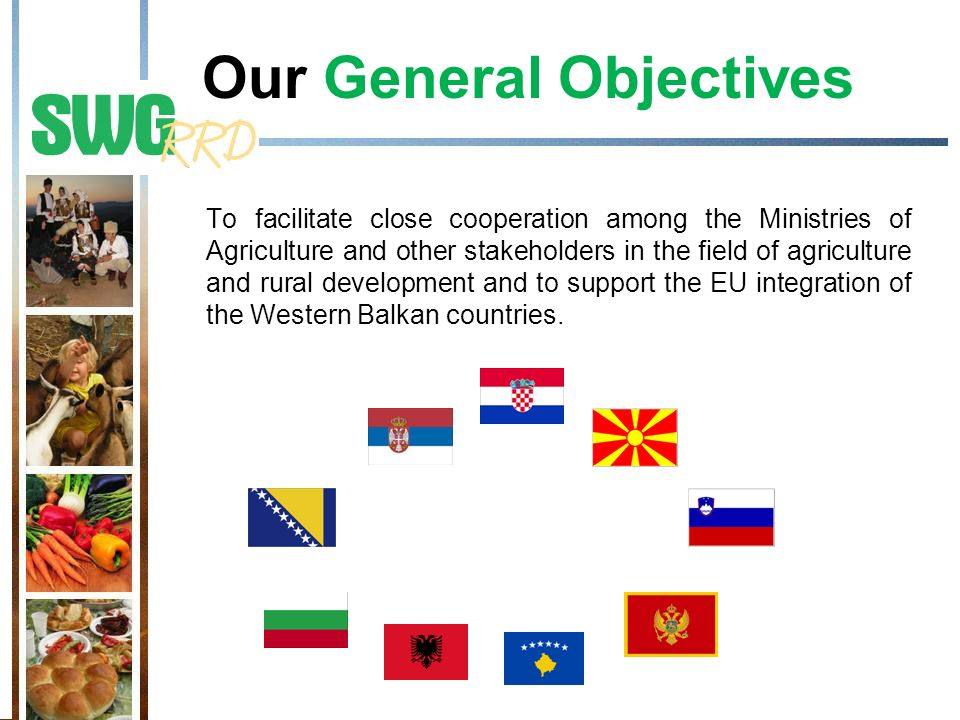Our General Objectives