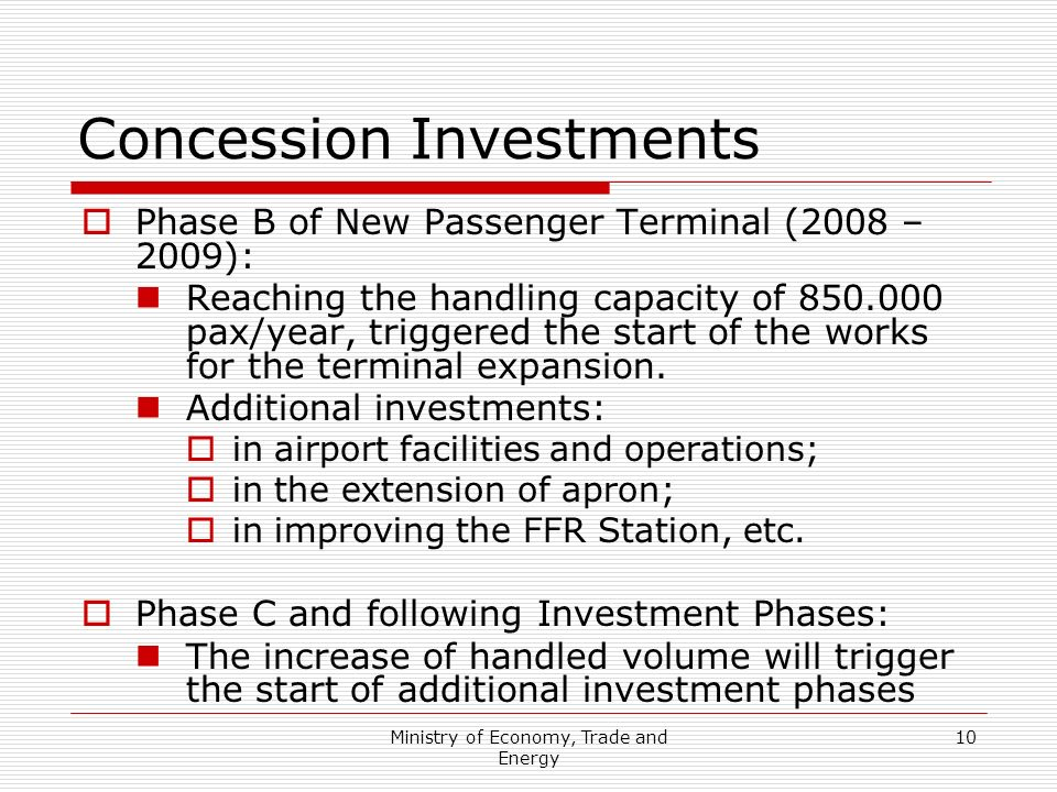 Concession Investments
