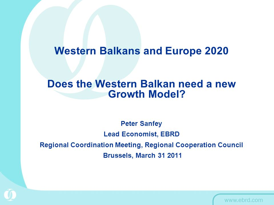 Western Balkans and Europe 2020