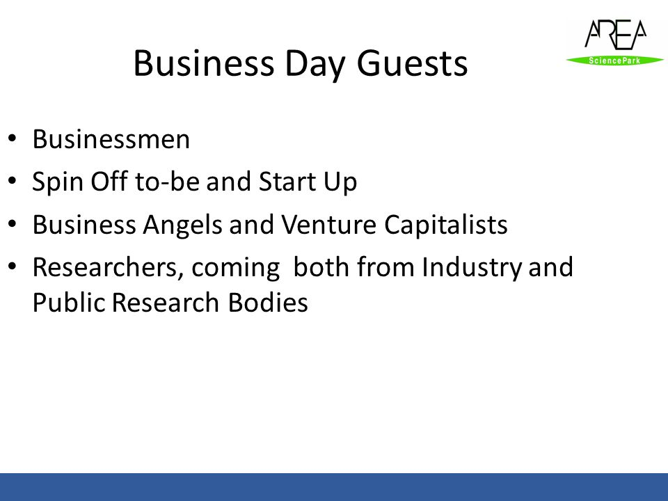 Business Day Guests Businessmen Spin Off to-be and Start Up