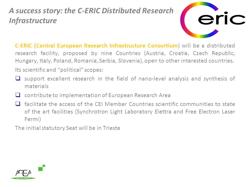 A success story: the C-ERIC Distributed Research Infrastructure